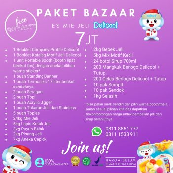 Paket Bazaar 7 Juta