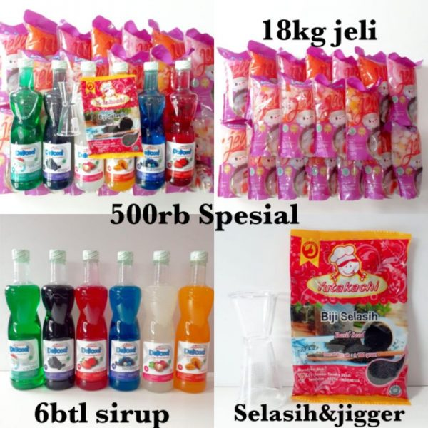 Paket jelly 500 rb spesial